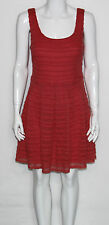 NEW Guess Coral Lace U-Neck Sleeveless Fit and Flare Casual Dress $148.00