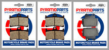 Yamaha FZS 600 Fazer 98-03 Front & Rear Brake Pads Full Set (3 Pairs)