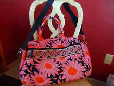 Vera Bradley weekender in retired Loves Me pattern EUC