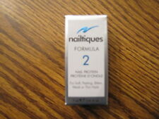 Nailtiques FORMULA 2 Nail Protein for Soft Peeling Weak Nails 1/4 oz 7 ml  0.25