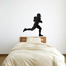 American Football Player Vinyl Wall Art Decal for Home Decor / Interior Desig...