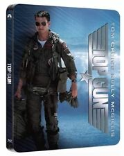 TOP GUN - Rare PLAY.COM EXCLUSIVE Limited Edition UK STEELBOOK (BLU RAY) - New