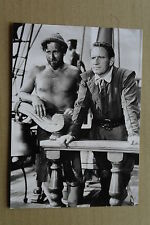 (X16-1) PRESSEFOTO Llyoyd Bridges/Spencer Tracey - Schiff ohne Heimat 1952