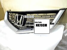 NH700M Front Grille +Center H emblem  06-07 HONDA ACCORD CL7 CL9  ACURA TSX OEM