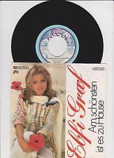 """Elfi Graf  - Am schönsten ist es zu Hause     7 """"  Single 1976"""