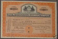 The Pennsylvania Railroad Company 1950 50 Shares