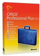 Microsoft Office 2010 Professional Plus | Full version | For 2 PC D/L&KEY