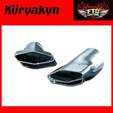 Kuryakyn Polygon Integrated Exhaust Tips '12-'16 GL1800 & F6B 7622