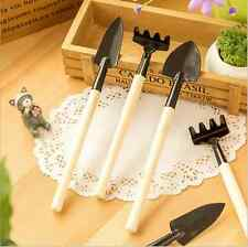 Mini Gardening Tools Set Rake Shovel Spade Potted Gardening Rippers Tools
