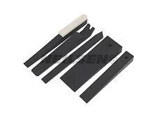 5 Piezas Juego De Coche Cuña de plástico-recortar Molduras Clips Tapones Puerta Panel removedor de herramienta