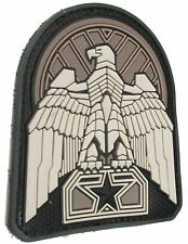 INDUSTRIAL EAGLE 3D PVC TACTICAL BADGE MORALE USA MILITARY SWAT VELCRO PATCH