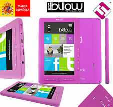 LECTOR DE LIBROS MULTIMEDIA COLOR PURPURA EBOOK BILLOW E2TP 4GB 800X4 E2TP 7