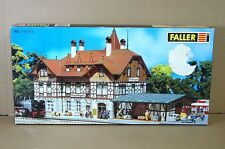 FALLER 110114 HO SCALE BAHNHOF TROSSINGEN STATION MODEL KIT MIB mw