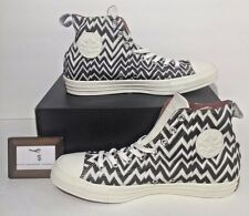 CONVERSE MEN SIZE 11 CHUCK TAYLOR ALL STAR X MISSONI HI TOP NEW RARE BROWN WHITE