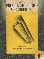Elements of Practical Radio Mechanics - Vintage Manual for Beginners - CD
