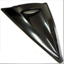 CAR HOOD ROOF AIR FLOW SCOOP DECORATION VENT COVER BIG TRIANGLE BLACK