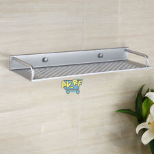 40cm Aluminum Bathroom Kitchen Wall Mounted Shower Soap Rack Towel Shelf Holder