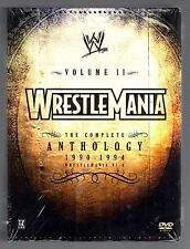 WWE - Wrestlemania Anthology: Vol. 2 (DVD, 2005, 5-Disc Set)