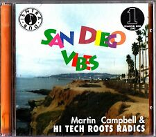 Martin Campbell and Hi Tech Roots Radics- San Diego Vibes CD (2002) Dub Reggae