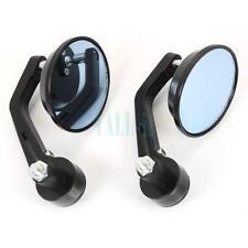 2PCS Universal Motorcycle Handlebar Conversion Rearview Mirrors for Honda Harley