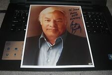 George Kennedy Signed Happy Birthday To Jason Autograph Photo TV Movie Actor