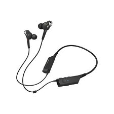 Audio-Technica QuietPoint ATH-ANC40BT Wireless Noise-Cancelling Earphones BLACK