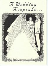 Wedding Card with King George V South Africa Lucky Sixpence Coin for Brides Shoe