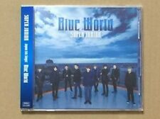 KPOP SUPER JUNIOR BLUE WORLD (CD + DVD) w/ photocard [Promo]