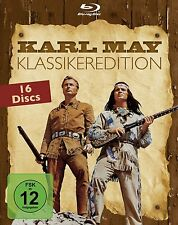 Gesamtbox KARL MAY Klassiker WINNETOU & OLD SHATTERHAND Orient ..16 BLU-RAY BOX