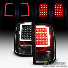 Black 2009-2016 Dodge Ram 1500 10-16 2500 3500 LED Bar Tail Lights Brake Lamps