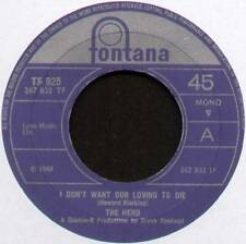 "HERD ~ I DON'T WANT OUR LOVING TO DIE ~ 1968 UK 7"" SINGLE ~ FONTANA TF 925"