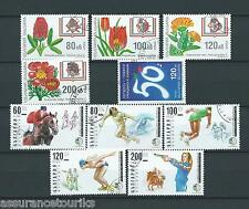 BULGARIE - 1997 YT 3719 à 3728 - TIMBRES OBL. / USED