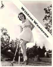 OLIVIA DE HAVILLAND Rare VINTAGE ORIGINAL photo Sexy Legs Leggy see thru dress