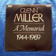 Glenn Miller And His Orchestra A Memorial LP Album 1969 RCA Victor VPM-6019
