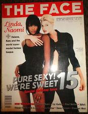 UK  Face 1995 Linda Evangelista Kate Moss Nadja Auermann Bjork Bettina Rheims