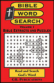 Bible Word Search Puzzles, Vol. I: Extracts from the Bible (by Akili Kumasi)