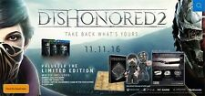 Dishonored 2 Limited Edition Xbox ONE *NEW*+Warranty!!