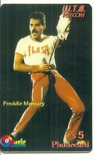 RARE /CARTE TELEPHONIQUE - THE QUEEN : FREDDIE MERCURY EDITION LIMITEE PHONECARD