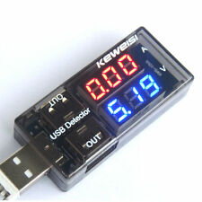 Digital LED USB Mini Charger Doctor Voltage Current Meter Tester  Detector