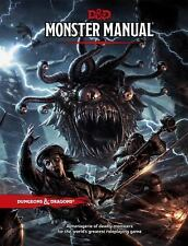 MONSTER MANUAL 5th Edition  Dungeons and Dragons DnD D&D Fifth Hardcover Book