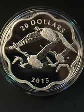 2015 Canada MC #1 - Master of the Sky: Canada Goose $20 Fine Silver Coin