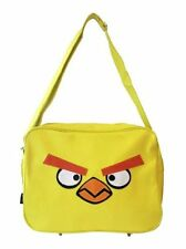 NEW YELLOW ANGRY BIRDS MESSENGER SHOULDER SPORTS BAG ROVIO APP GAME GIFT