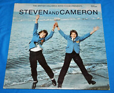 steven schoen & cameron grant LP boys soprano british columbia boys choir RARE
