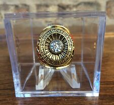 RARE! St Louis Cardinals 1942 Championship Ring With Display World Series USselr