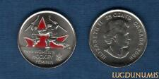 Canada JO Vancouver - 25 Cents 2009 Couleur Hockey Feminin Women's Hockey