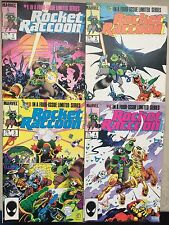 ROCKET RACCOON #s 1,2,3 & 4 (VF)•Complete Mini•Guardians Of The Galaxy•Hulk 271