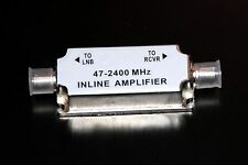 SATELLITE INLINE AMPLIFIER SIGNAL BOOSTER