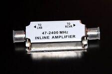 SATELLITE INLINE AMPLIFIER SIGNAL BOOSTER