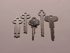 National Cash Register Keys 1, 2, 3A, 5 & Reset 300/700 NCR!