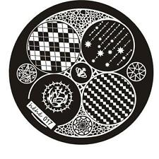 Nail Art Image Stamp Stamping Plates Manicure Steel Template Hehe Series New!